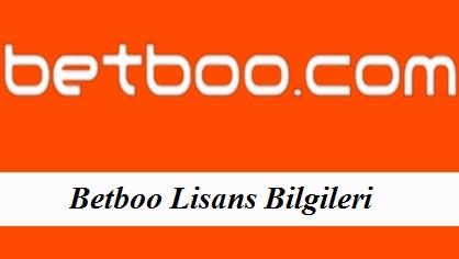 Betboo Lisans Bilgileri